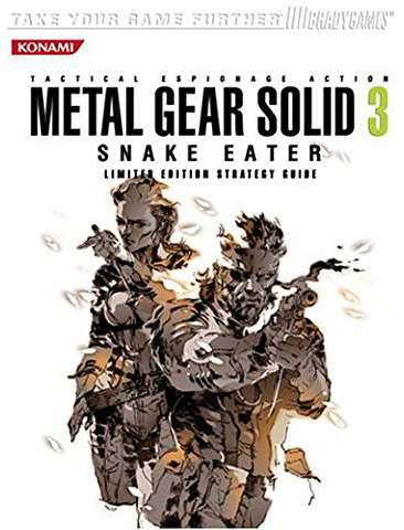 Metal Gear Solid 3: Snake Eater Limited Edition Guide
