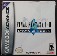 Final Fantasy I & II: Dawn of Souls Official Strategy Guide
