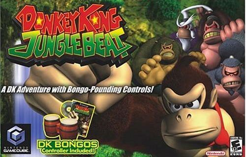 Donkey Kong Jungle Beat Bongo w/ Drum Controller