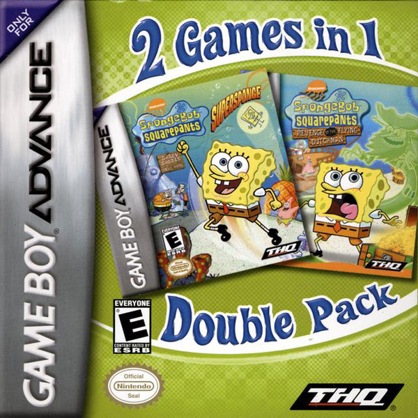 Spongebob Revenge of the the Flying Dutchman/Supersponge: 2 Games in 1
