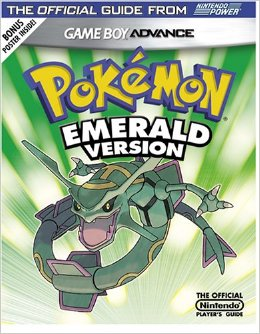 Pokemon Emerald Official Nintendo Player's Guide