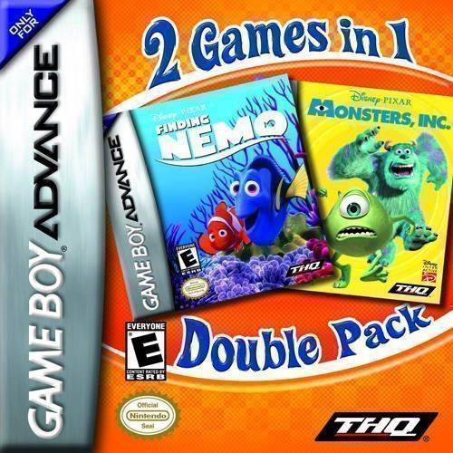 Finding Nemo / Monsters INC Double Pack