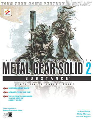 Metal Gear Solid 2: Substance Official Strategy Guide