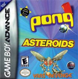 Pong / Asteroids / Yar's Revenge