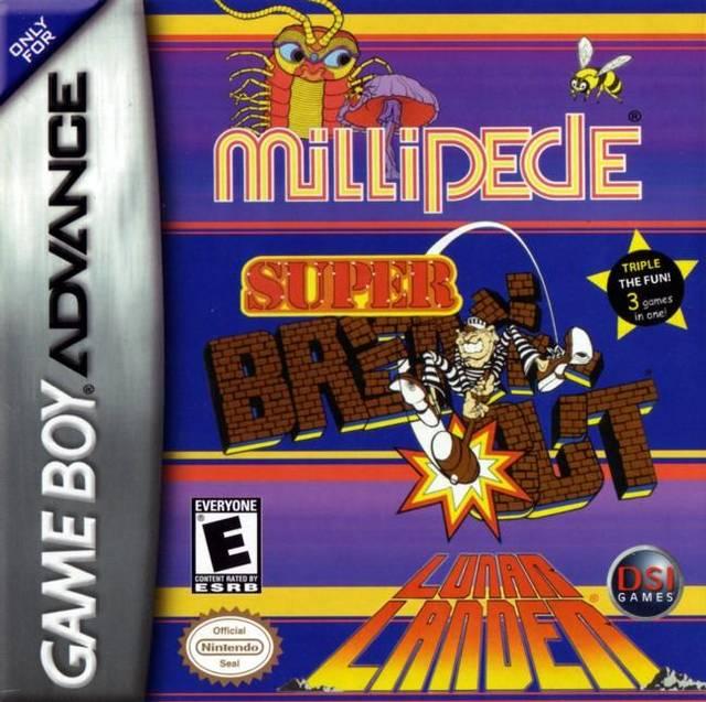 Millipede / Super Breakout / Lunar Lander