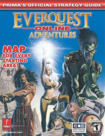 Everquest Online Adventures Official Strategy Guide