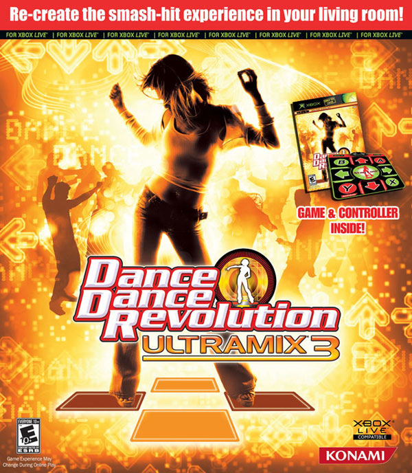 Dance Dance Revolution Ultramix 3 Bundle