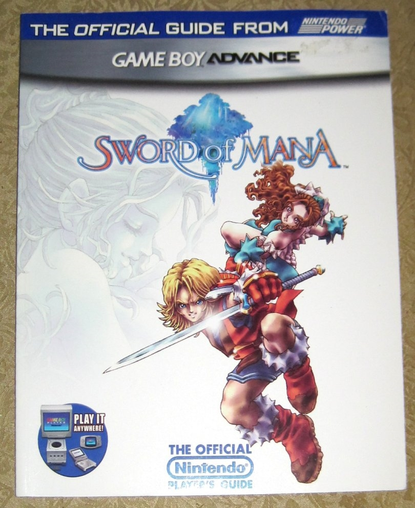 Sword of Mana Nintendo's Official Strategy Guide