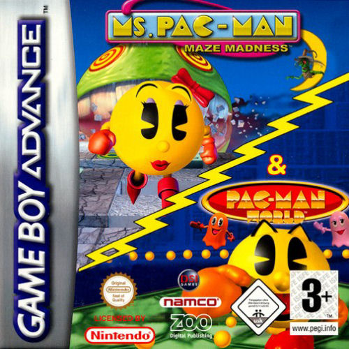 Ms Pac-Man Maze Madness/Pac-Man World