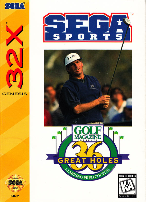 36 Great Holes Starring Fred Couples / 32X
