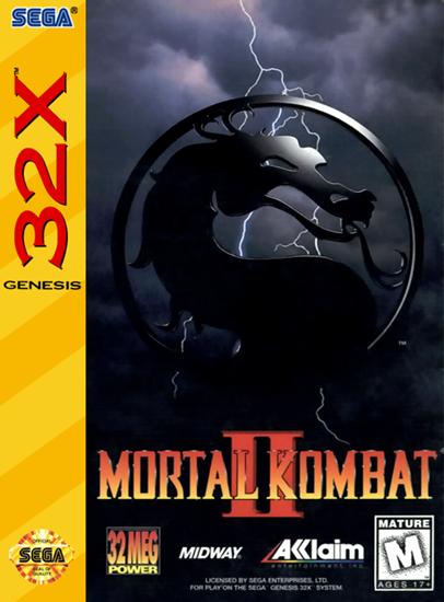 Mortal Kombat II / 32X