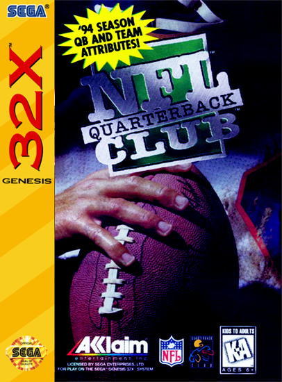 NFL Quarterback Club / 32X