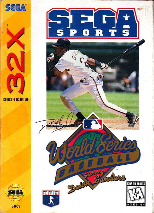 World Series Baseball starring Dan Sanders / 32X