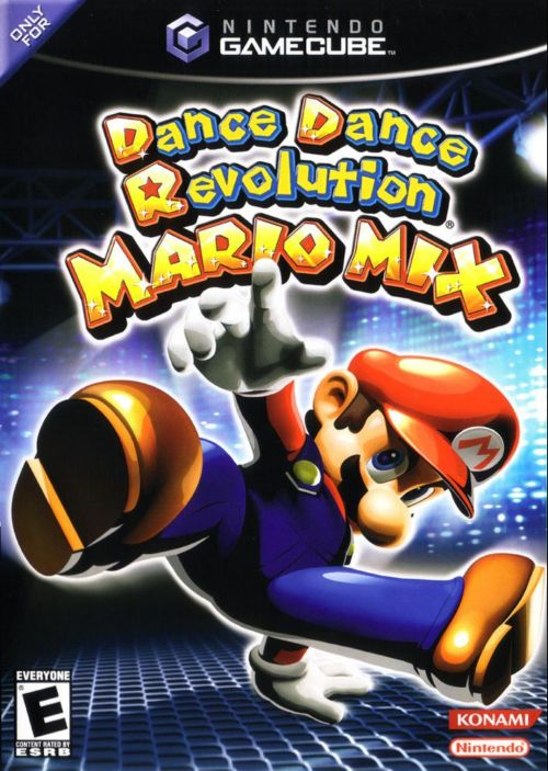 Dance Dance Revolution Mario Mix with Dance Pad