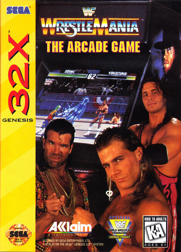 WWF Wrestlemania: The Arcade Game / 32X