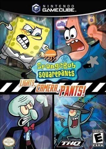 SpongeBob SquarePants: Lights Camera Pants!