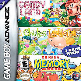 Candyland / Chutes & Ladders / Memory Game