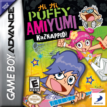 Hi Hi Puffy Ami Yumi: Kaznapped