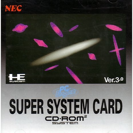 Turbo Grafx 16 Super System Card Version 3.0