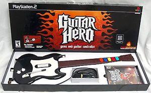 Guitar Hero with Guitar Bundle