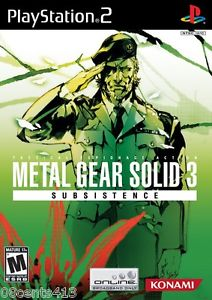 Metal Gear Solid 3: Snake Eater Subsistence