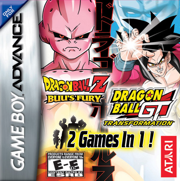 Dragon Ball 2 Games in 1: Pack Buu's Fury + GT-Transformation