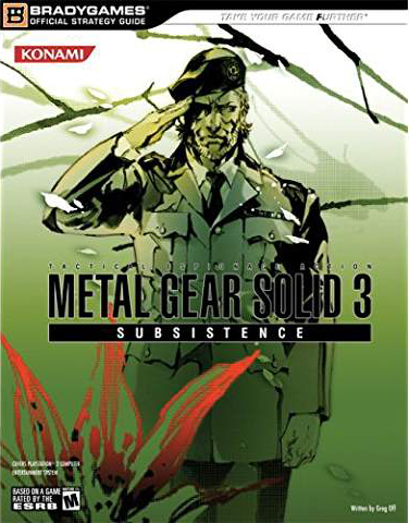Metal Gear Solid 3: Subsistence Official Strategy Guide