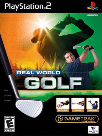 PS2 Real World Golf