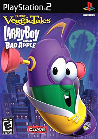 Veggie Tales Larry Boy and the Bad Apple