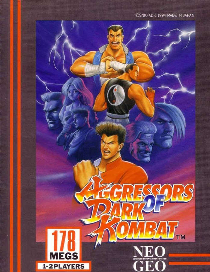 Aggressors of Dark Kombat Neo Geo AES