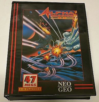 Alpha Mission II Neo Geo AES