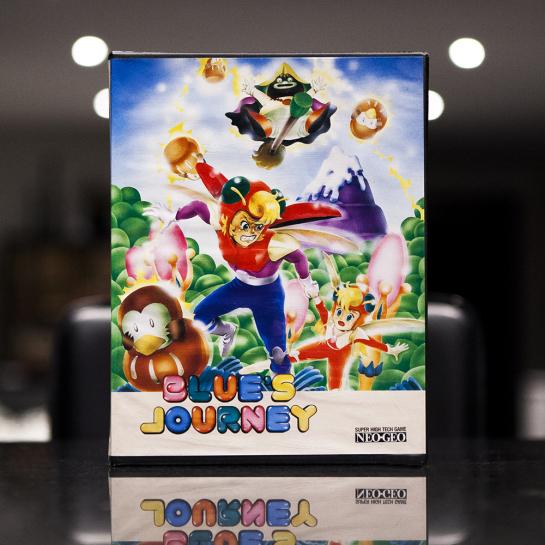 Blue's Journey Neo Geo AES