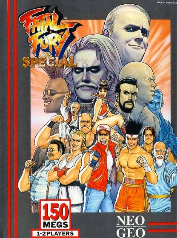 Fatal Fury Special Neo Geo AES