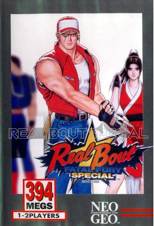 Real Bout Fatal Fury Special Neo Geo AES