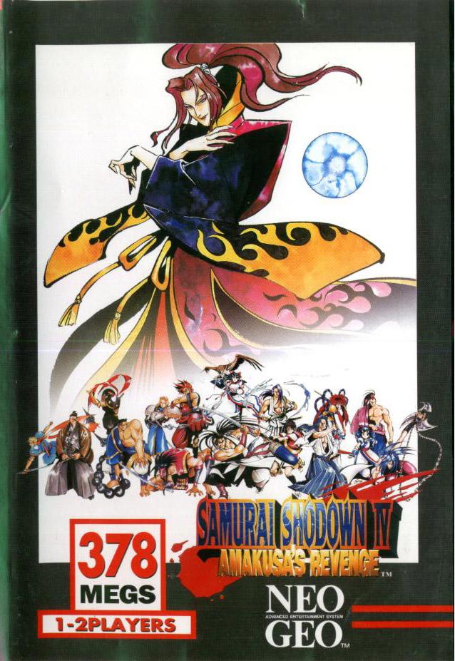 Samurai Shodown IV: Amakusa's Revenge Neo Geo AES