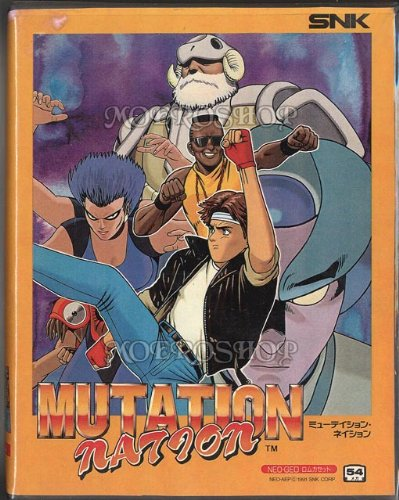 Mutation Nation Neo Geo AES
