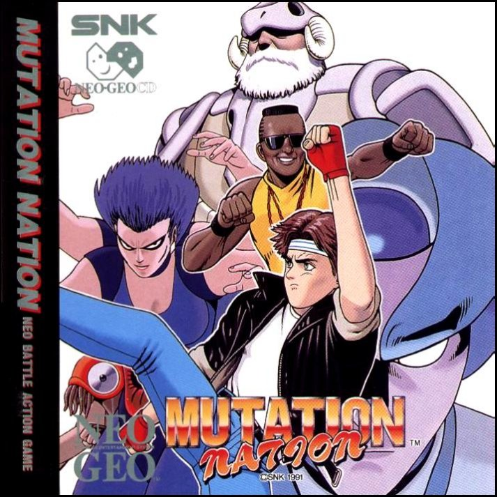 Mutation Nation Neo Geo CD