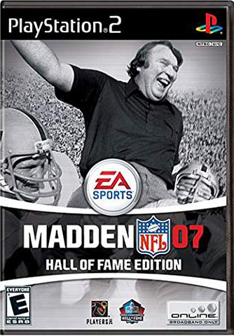 Madden NFL Football 07 Hall of Fame Edition