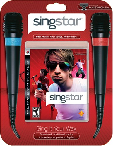 SingStar Bundle with 2 Microphones