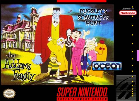 Addams Family: Pugsley's Scavanger Hunt