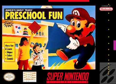 Mario's Early Years: Preschool Fun