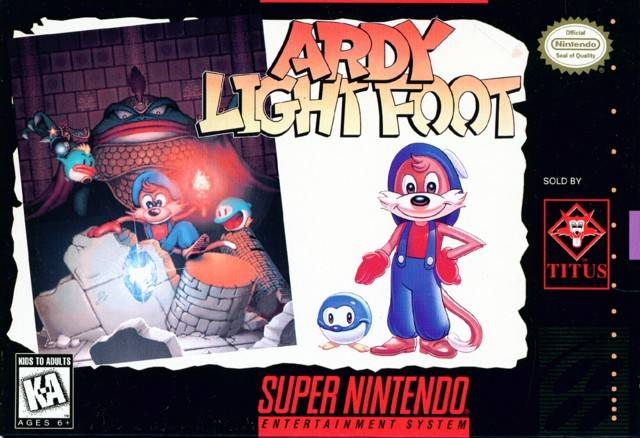 Ardy Light Foot