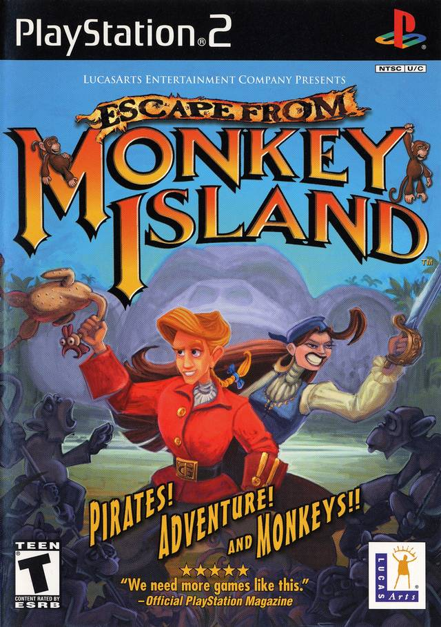 Escape From Monkey Island Prima Official Strategy Guide
