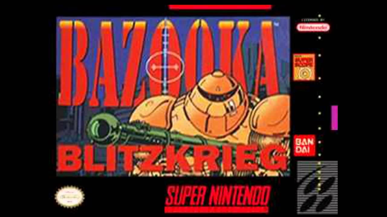 Bazooka Blitzkreig