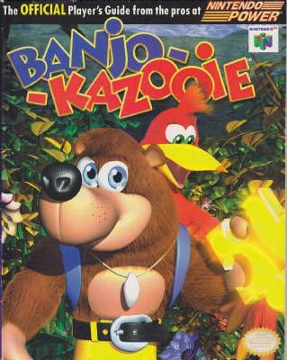 Banjo-Kazooie Nintendo Power Official Player's Guide