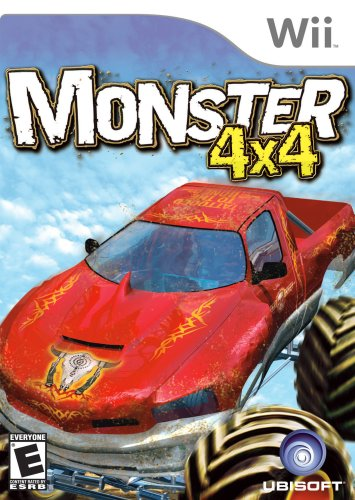 Monster 4X4 World Circuit with Wheel