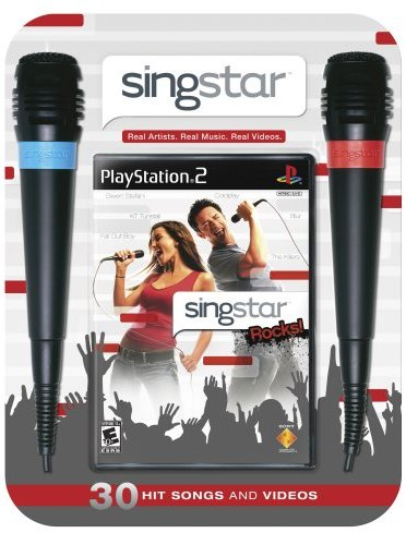 SingStar Rocks with Microphones