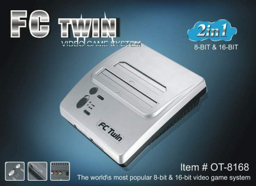 FC Twin NES / S-NES System Silver/Black