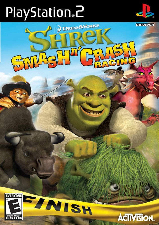 Shrek Smash and Crash