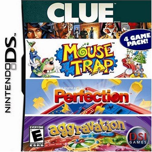 Clue / Mousetrap / Perfection / Aggravation